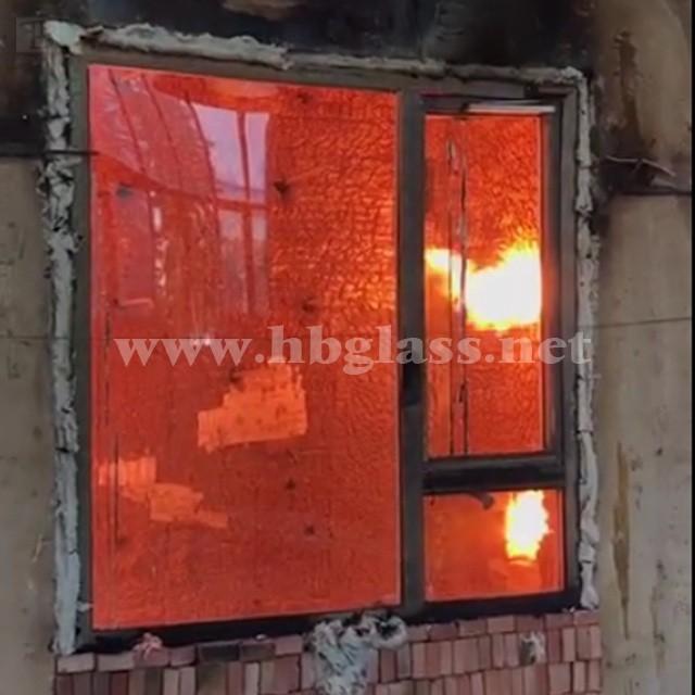 钢铝复合非隔热型防火窗