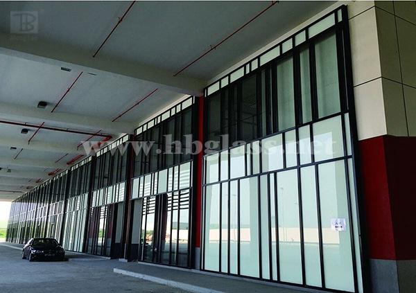 澳门工程幕墙玻璃 工程图片